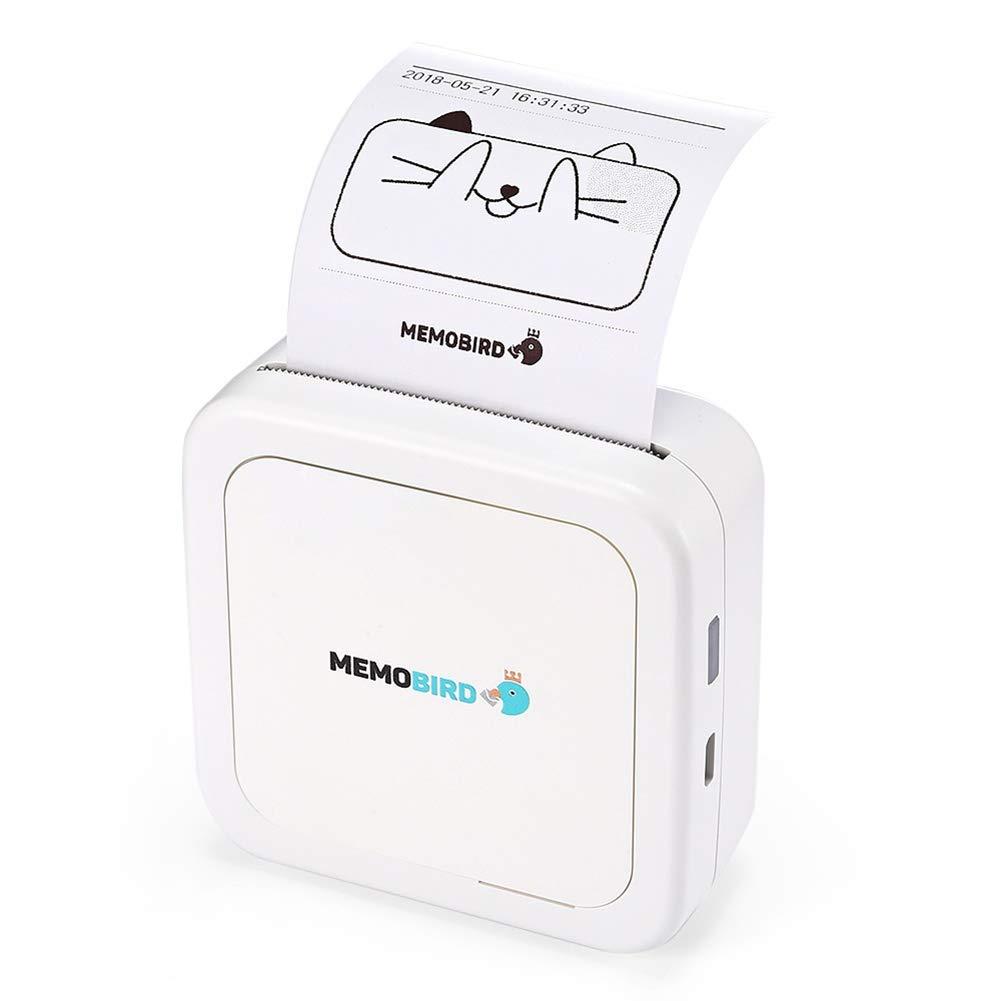 Mallalah Mini Impresora térmica Teléfono móvil Foto ...