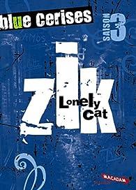 Blue cerises. zik. saison 3. lovely cat par Maryvonne Rippert