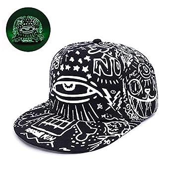 YSYNCAP Gorras Graffiti Gorra De Béisbol Hip Hop Snapback Caps Luz ...