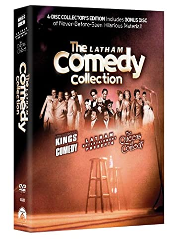 The Latham Comedy Collection (The Steve Harvey Show Dvd)