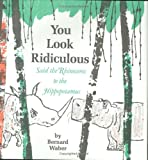 You Look Ridiculous, Said the Rhinoceros to the Hippopotamus, Bernard Waber, 0395071569