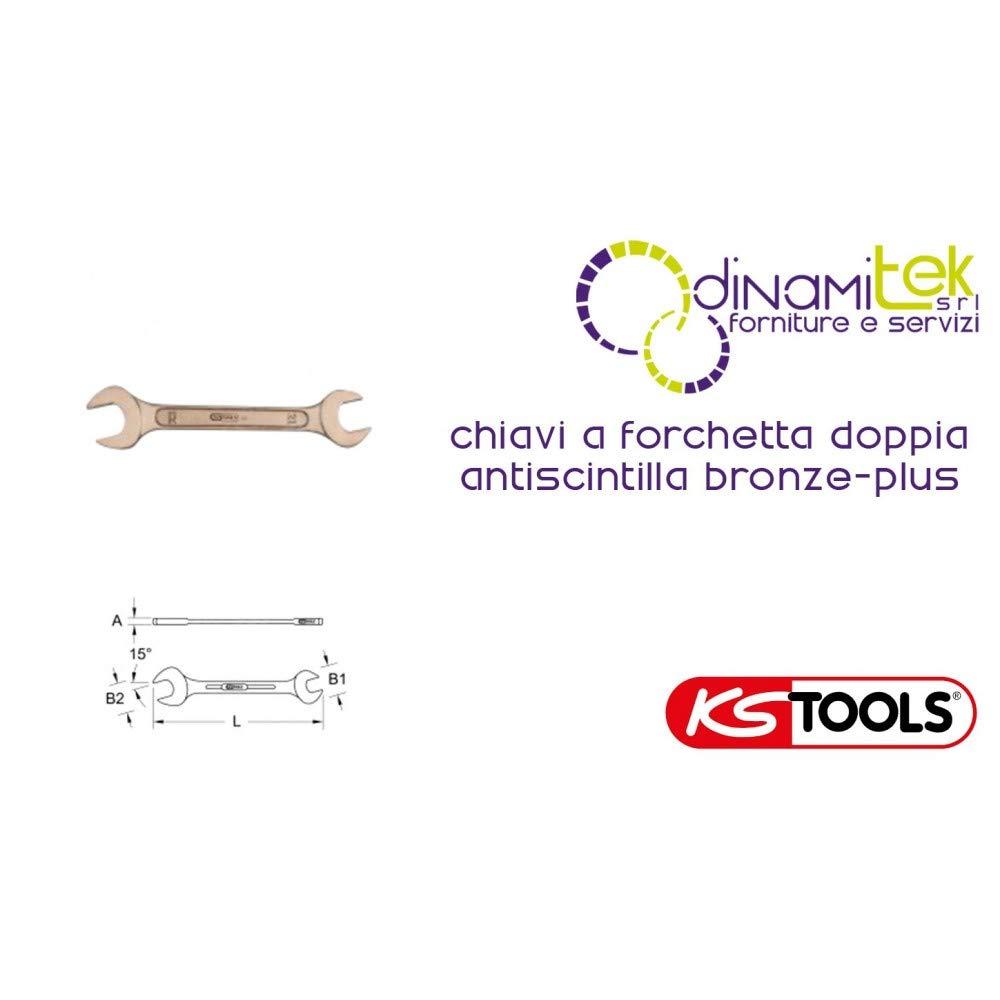 KS Tools 963.7048 BRONZEplus Doppel-Maulschlüssel 30x34 mm B00QU7LYOS | New Product 2019