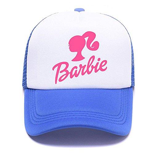Barb Logo E24U2H Trucker Hat Baseball Caps Gorras de Béisbol for Men Women Boy Girl Blue