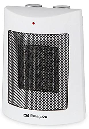 Orbegozo CR 5013 Calefactor Cerámico, 1500 W, Color Blanco: Amazon.es: Hogar