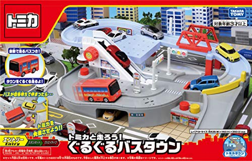 Town Bus - TAKARA TOMY Tomica Tomica and Hashiro You! Round and Round Bus Town