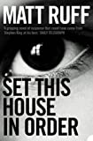 Front cover for the book Set This House in Order by Matt Ruff