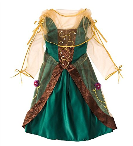 Forest Princess Costumes (Magic Cabin Imagining Me Forest Princess Dress-Up Costume Fits Most Kids Size 4-6)
