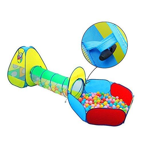 INKERSCOOP Pop Up 3 in 1 Play Tent Set for Children - Kid...