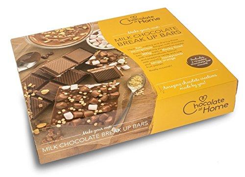 Milk Chocolate Bar Making Kit Amazoncouk Grocery