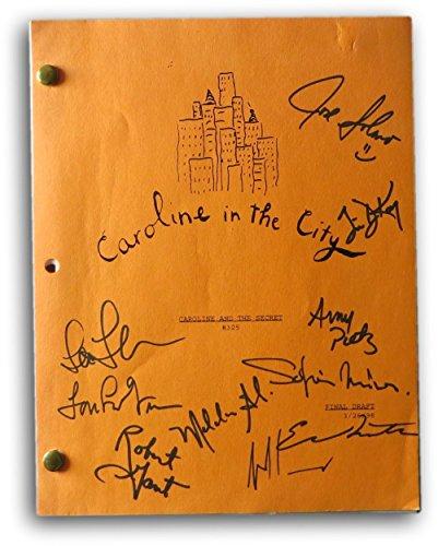 (Caroline in The City Cast Signed Autographed Script Episode #325 PSA)
