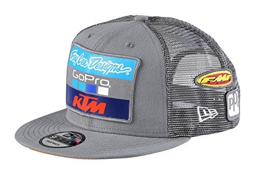 Troy Lee Designs 2017 Team TLD KTM Snapback Hat-Charcoal