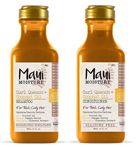 Maui Moisture Curl Quench + Coconut Oil (Shampoo & Conditioner)