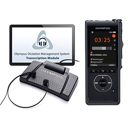 Olympus DS-9000DT Professional Digital Dictation & Transcription Starter Kit (ds9000, as9000)