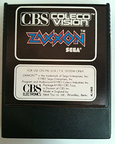 Zaxxon - ColecoVision (CBS Electronics International Verison)