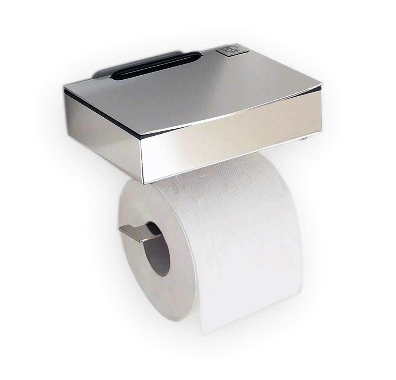 Para toallitas húmedas/papel higiénico de acero inoxidable - combinación - Made in Germany: Amazon.es: Hogar
