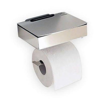 Para toallitas húmedas/papel higiénico de acero inoxidable - combinación - Made in Germany