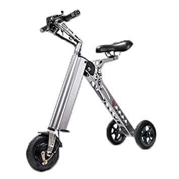 Folding Electric Bike Eco Friendly Portable Scooter Foldable Small Size And Light Weight