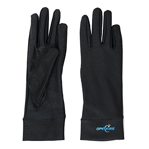 Compression Gloves for Women, Copper Arthritis Gloves Joint Pain,for Carpal Tunnel,Swelling,Typing,Night Time,Black - Medium by OpeCking (Image #5)