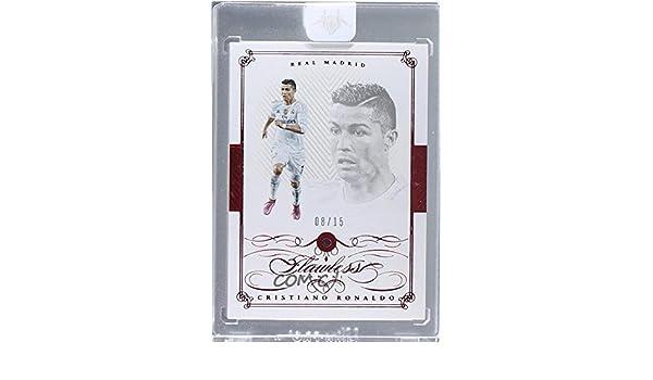 f74cadb3664 Amazon.com  Cristiano Ronaldo Ungraded Manufacturer Uncirculated  8 15  (Trading Card) 2015-16 Panini Flawless -  Base  - Ruby  28  Collectibles    Fine Art
