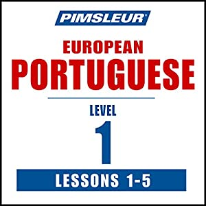 Pimsleur Portuguese (European) Level 1, Lessons 1-5 Speech