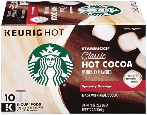 Which are the best starbucks hot chocolate k cups available in 2019?