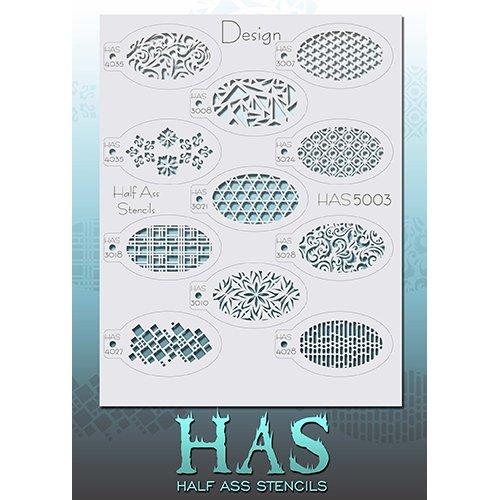 Half Ass Design Stencils -