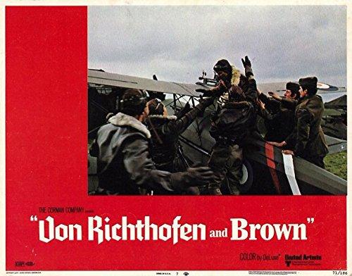 The Red Baron POSTER Movie (1971) Style G 11 x 14 Inches - 28cm x 36cm (John Phillip Law)(Don Stroud)(Barry Primus)(Corin Redgrave)(Hurd Hatfield)(Stephen McHattie)