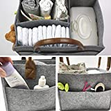 Portable Baby Diaper Caddy Organizer for Changing
