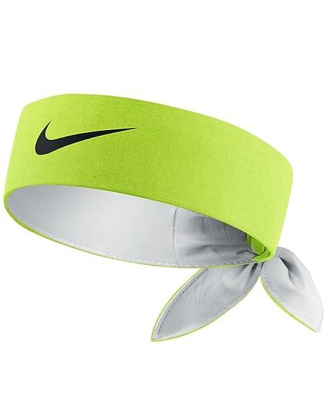 Amazon.com  Nike Head Tie Headband (VOLT Black)  Sports   Outdoors debc9cea02d