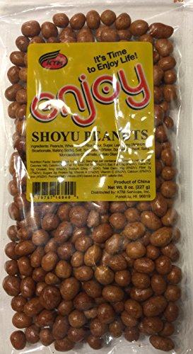 Enjoy Shoyu Iso Peanuts, 8 Ounce