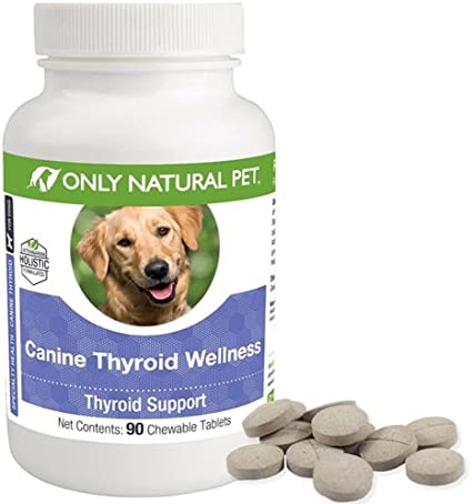 Amazon Com Only Natural Pet Canine Thyroid Wellness Pet Herbal