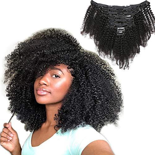 natural afro hair extensions - 4