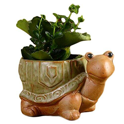 George Jimmy Outdoor/Indoor Decor Retro Ceramics Garden Flower Pots/Planters-Tortoise
