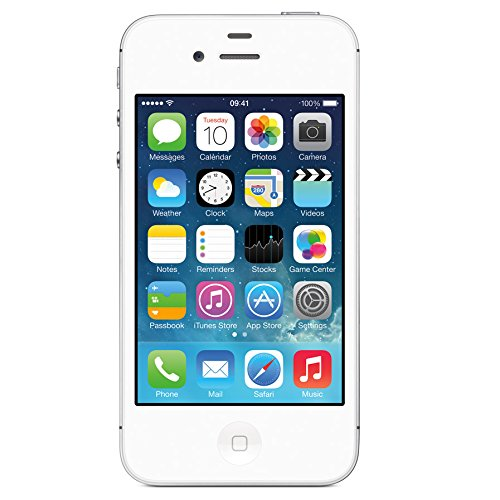 Apple iPhone 4S 32GB Unlocked - White (Certified Refurbished) by Apple (Image #1)