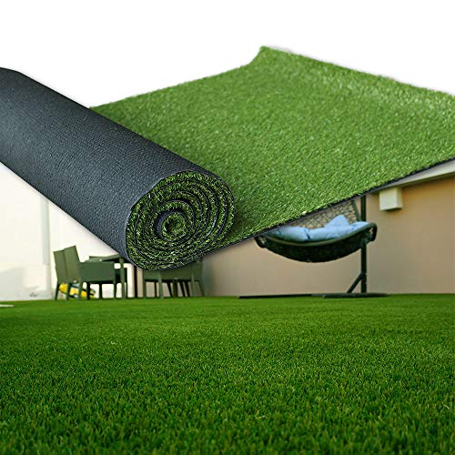 - LITA Artificial Grass 5' x 11' (55 Square Feet) Realistic Fake Grass Deluxe Turf Synthetic Turf Thick Lawn Pet Turf -Perfect for Indoor/Outdoor Landscape (20mm high Pile) Customized