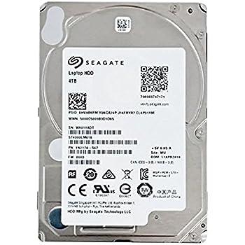 Amazon.com: Seagate 4TB Laptop HDD SATA 6Gb/s 128MB Cache ...