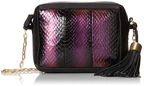Foley + Corinna Tassel Charmer Watersnake Cross Body Bag,Mystic Snake,One Size (Handbag Water Snake)