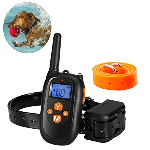 PAWOAH Remote Dog Training Collar Waterproof Receiver Dog Shock Collar for Dogs (Receivers Waterproof)
