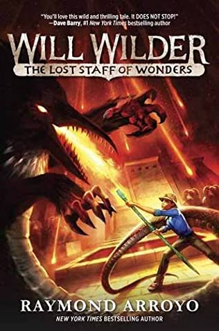 book cover of The Lost Staff of Wonders