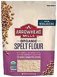 Arrowhead Mills Organic Spelt Flour, 22 oz. Bag (Pack of 6)