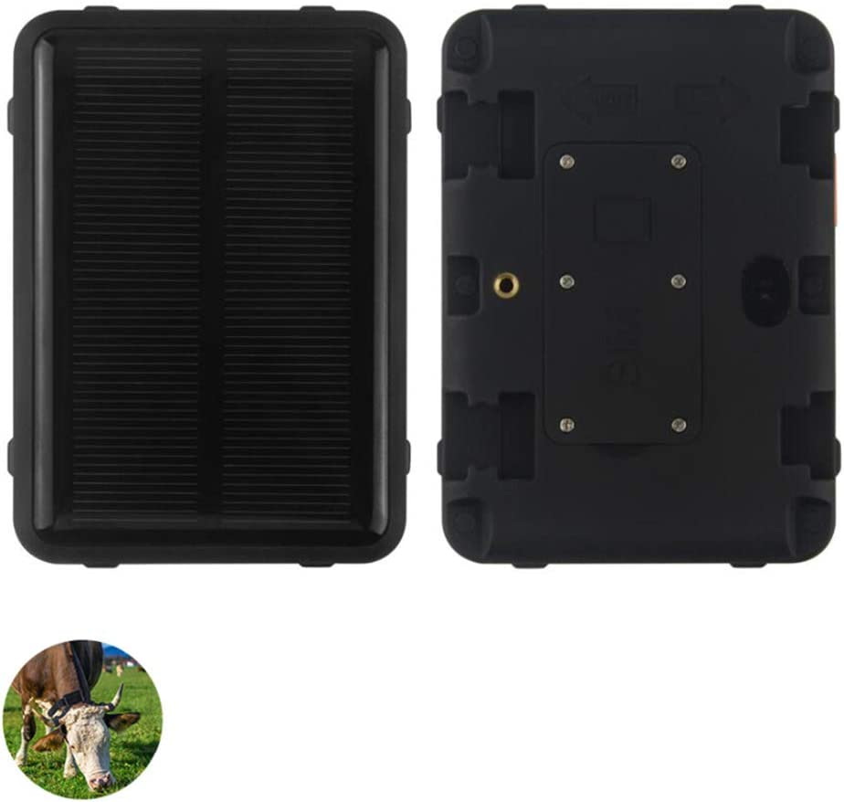 Rastreador de Mascotas de energía Solar, WiFi, Fuerte localizador magnético de GPS para vehículos de ovejas, Vacas, Ganado, Caballos, vehículos, Larga Espera