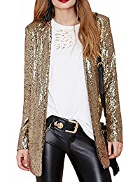Amazon.com: Gold - Blazers / Suiting & Blazers: Clothing, Shoes ...