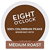Eight O'clock Coffee 100% Colombian Keurig Single-Serve K-Cup Pods, Medium Roast Coffee, 72 count