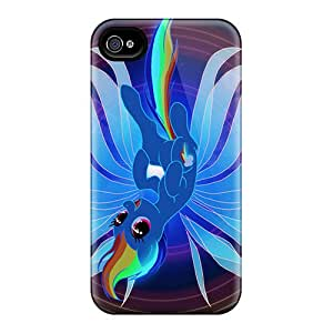 OIjrhkg5848IVSoL Rainbow Dash Fashion Tpu 4/4s Case Cover For Iphone