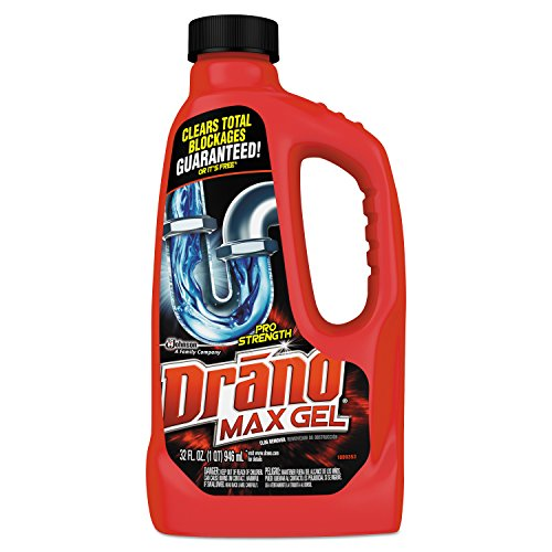 Drano 694768 Max Gel Clog Remover, 32oz Bottle (Case of ()