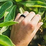 Qalo Women's Classic Silicone Wedding Ring