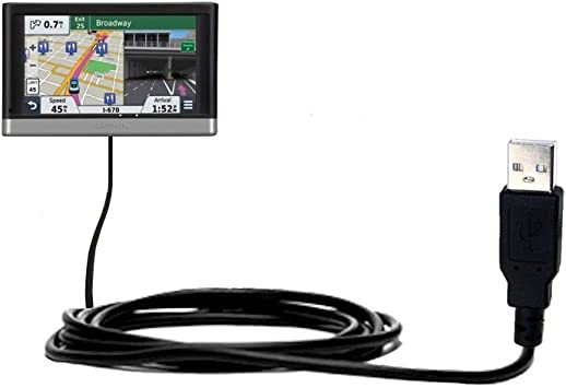 2597 LMT and uses TipExchange Compact and Retractable USB Power Port Ready Charge Cable Designed for The Garmin nuvi 2557//2577