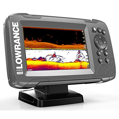 Lowrance Hook² 5 with SplitShot Transducer and US/Canada Nav+ Maps ()