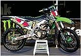 RYAN VILLOPOTO MONSTER ENERGY KX450 RACE BIKE GIANT MOTOCROSS POSTER!