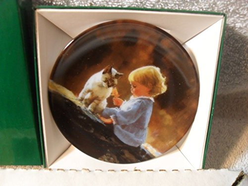 JUST WE TWO Mini Plate Moments to Remember Donald Zolan Miniature MIB